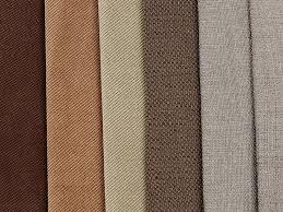 100 polyester hemp slub fabric imitation linen sofa upholstery