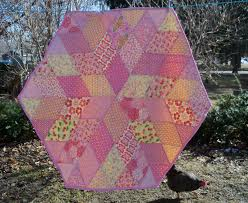 sewn diamond quilt a tutorial