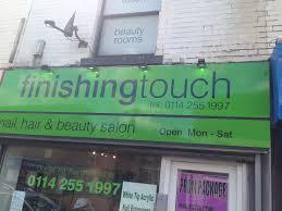 finishing touch nail u0026 beauty salon julian therapies sheffield