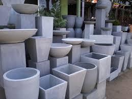 Concrete Planter Planters Marvellous Concrete Flower Pots For Sale Large Round