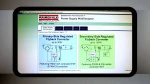 introduction to fairchild s power supply webdesigner an online introduction to fairchild s power supply webdesigner an online design and simulation tool