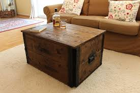 trunk style side table uncle joe s s vintage style shabby chic chest wood brown 83 x 55