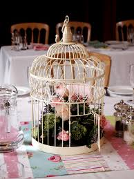 how to decorate a birdcage with flowers decorative flowers