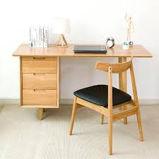 bureau en ch e massif bureau en bois massif avec retour est pas grand pour socialfuzz me