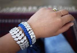 diy bracelet with thread images Diy braided rhinestone bracelet honestly wtf jpg
