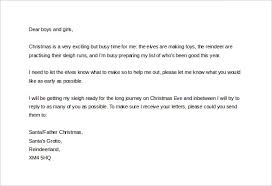 christmas letter template u2013 9 free word pdf documents download