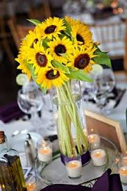 sunflower centerpiece sunflower centerpieces wedding design a and affordable