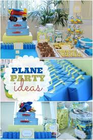 boy 1st birthday airplane themed boy s 1st birthday spaceships and laser beams