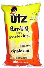 Ripple Chips Things I Like Utz Ripple Cut Bar B Q Chips Blog Of The Courtier