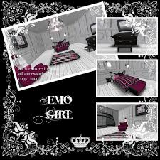 second life marketplace ar cozy u0027s emo bedroom set