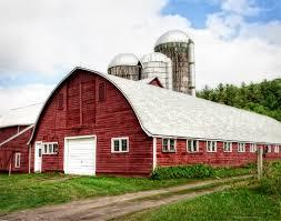 red barn home decor rustic red barn and silos walker farm dairy barn barn and