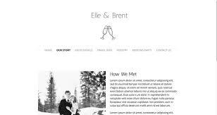 wedding registry websites create a wedding website templates ideas jimdo