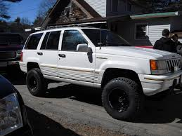 jeep grand cherokee lifted deezjeep95 1995 jeep grand cherokeelimited sport utility 4d specs