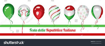 Italy National Flag Italy National Day Italy Republic Day Stock Vector 426939394