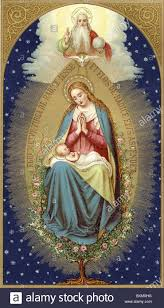 religion christianity virgin mother with baby jesus germany