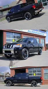 nissan armada with black rims check out these 20