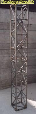 tralicci americana usati traliccio quadrato 25cm usato in ferro lunghezza 2 metri su
