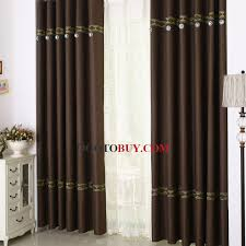 buy cheap curtains online in coffee color for energy saving buy
