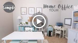 video inexpensive home office organization and decorating