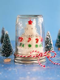 candy christmas tree in a snow globe hgtv