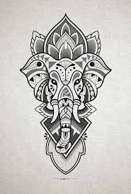 elephant head tattoo design for inner forearm http instagram