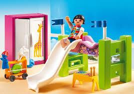 chambre enfant playmobil playmobil city 5579 pas cher chambre d enfant avec lit mezzanine