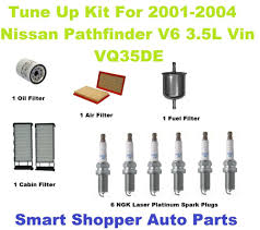 nissan pathfinder oil filter tune up kit for 2001 2004 nissan pathfinder ngk laser platinum