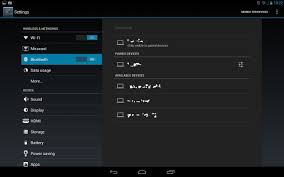 bluetooth settings android bluetooth settings android 4 2 tablet kalos help guide