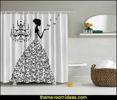 Cloth Shower Curtains Decorating Theme Bedrooms Maries Manor Shower Curtains Fabric