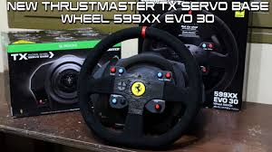 thrustmaster 458 review thrustmaster tx servo base wheel 599xx evo 30 forza 6