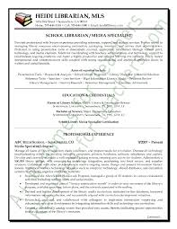 Example Resume For Teachers by Media Librarian Resume Sample Page 1