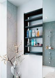 Unique Bathroom Storage Ideas Sliding Bathroom Storage Idea Ewdinteriors