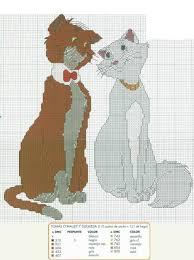 66 cross stitch aristocats images disney