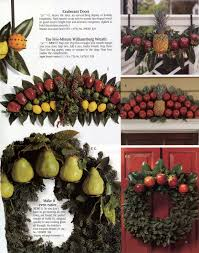Williamsburg Home Decor Williamsburg Christmas Decorating Using Fruit Christmas 2