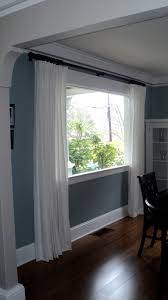 Ikea Panel Curtain Ideas by 25 Best Ideas About Double Curtain Rods On Pinterest Decorative