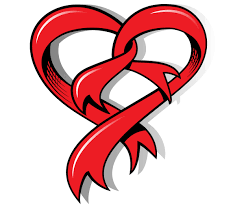 heart ribbon heart shaped ribbon free vector heart tattoo and