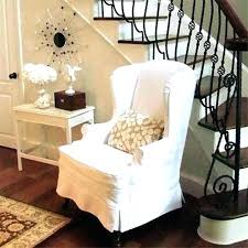 white wing chair slipcover wing back chair covers wing back recliner chairs wing chair