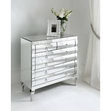 nightstand astonishing traditional drawers mirrored chest of