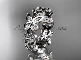 butterfly wedding rings images Diamond wedding bands jpg