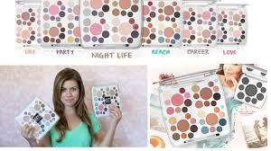 Em Makeup review demo palettes from em phan makeup line