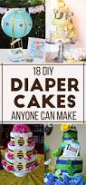 Diaper Cake Decorations For Baby Shower 19 Stunning Diaper Cakes Anyone Can Make Diapers Cake And Babies
