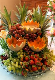 fruit displays food display the fruit cascade live pretty