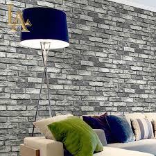 aliexpress com buy pvc vinyl vintage shabby brick stone 3d