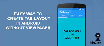 xamarin android table layout create tab layout in android without viewpager