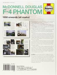 mcdonnell douglas f 4 phantom manual 1958 onwards all marks an