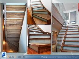 Modern Glass Stairs Design Stairs With Glass Risers Modern Staircase London By