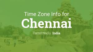 India Time Zone Map by Daylight Saving Time Dates For India U2013 Tamil Nadu U2013 Chennai