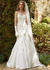 sweetheart wedding dress with ruched beaded bodice david u0027s bridal