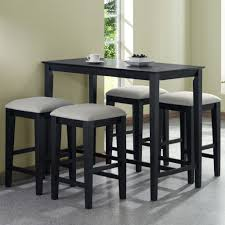 high table and bar stools inspiring kitchen bar height table round counter dining set for tall