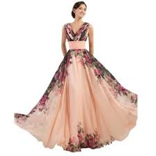 gown designs 3 designs one shoulder floral print chiffon evening gown maxi